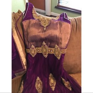 Dresses & Skirts - FINAL SALE Beautiful purple Indian outfit